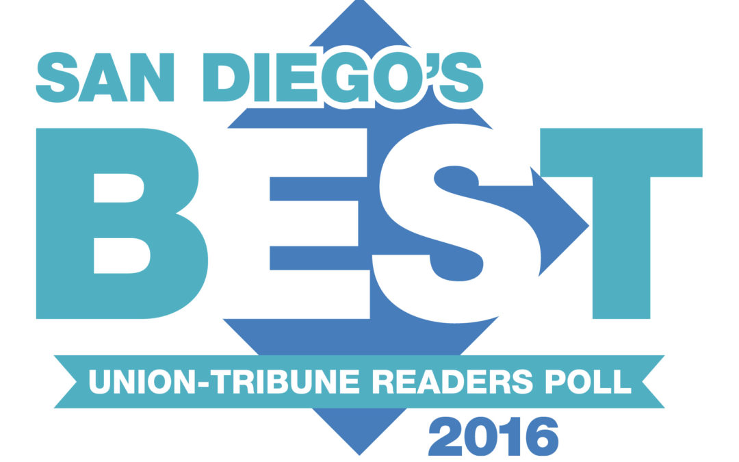The San Diego Union Tribune Announces the Best of San Diego 2016