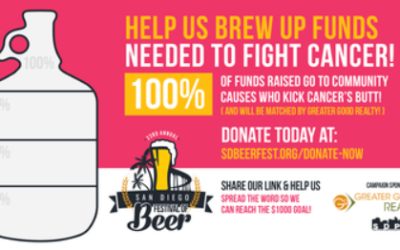 Help Us Brew Up Funds Needed to Fight Cancer