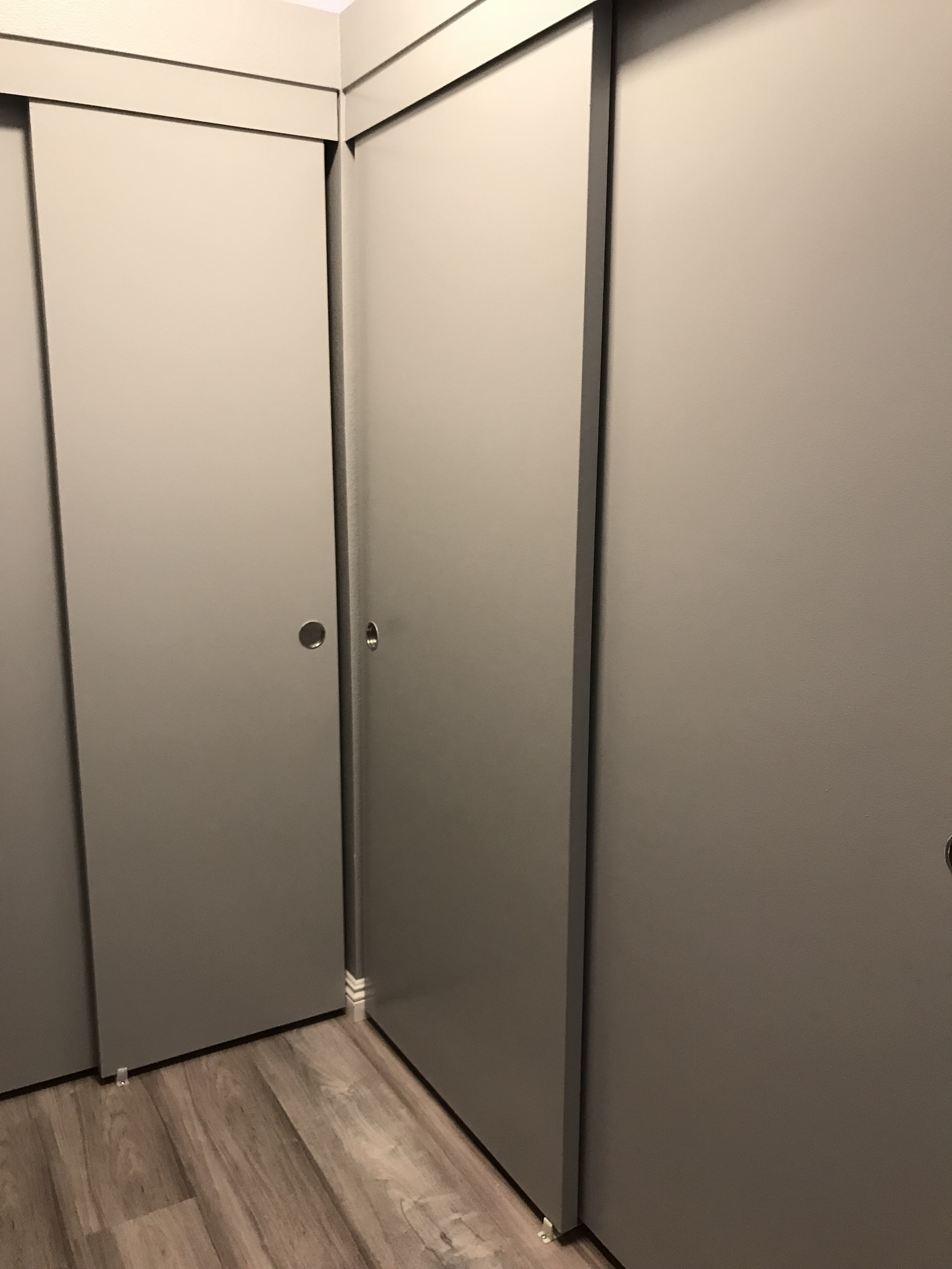 Back closets
