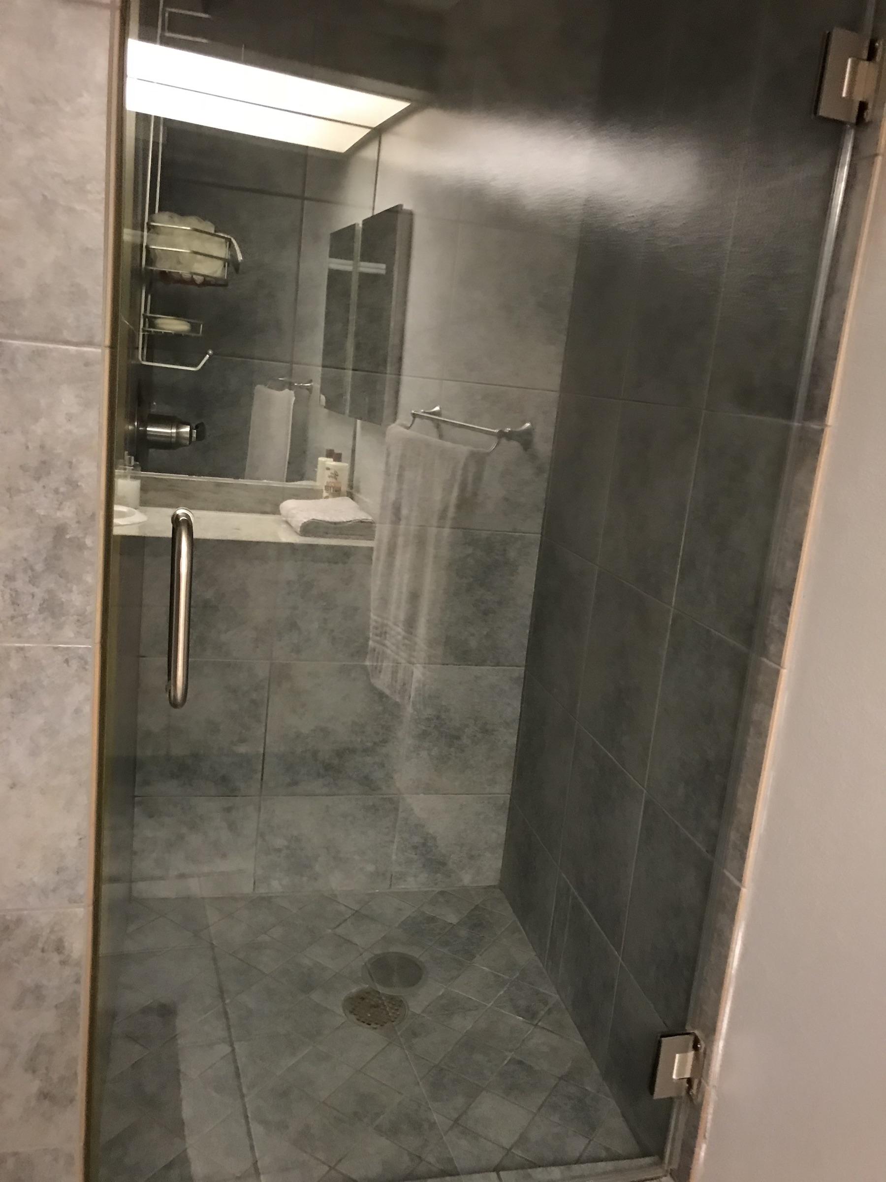 Back shower