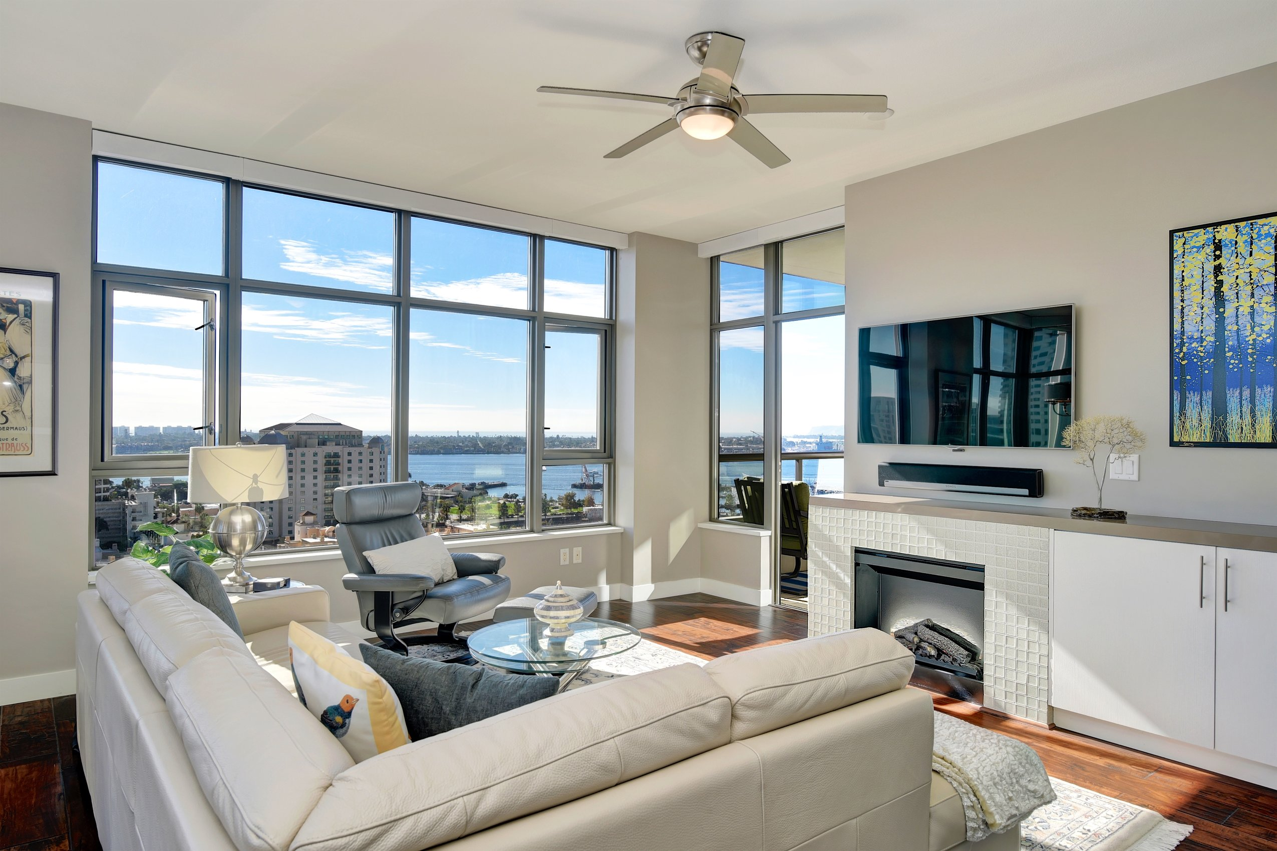 Downtown Living with Bay, Ocean and City Views